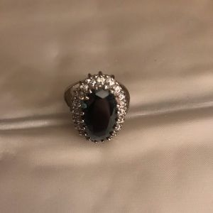 Costume Sapphire Dinner Ring